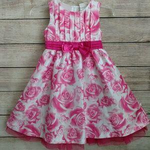 Beautiful Nanette girl size 4T pink party dress